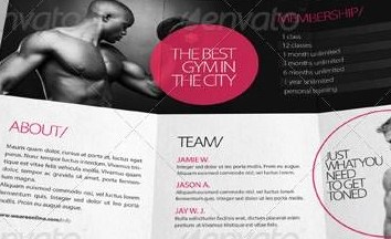 HD Decor Images » Fitness Brochure   colbro co     20 Best Gym Brochure Templates Sample Templates