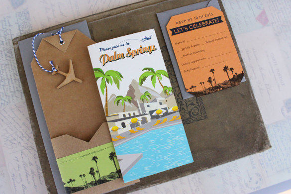 create a travel brochure project