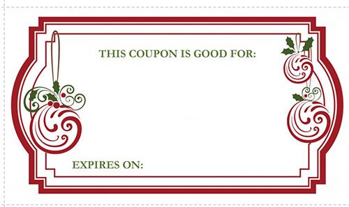 Doc534249 Gift Voucher Examples Gift Voucher Examples Free – Christmas Coupons Template