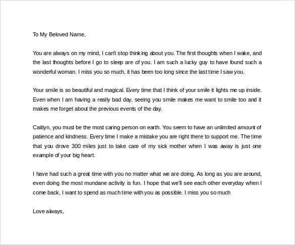 Love Letters For Girlfriend | Docoments Ojazlink
