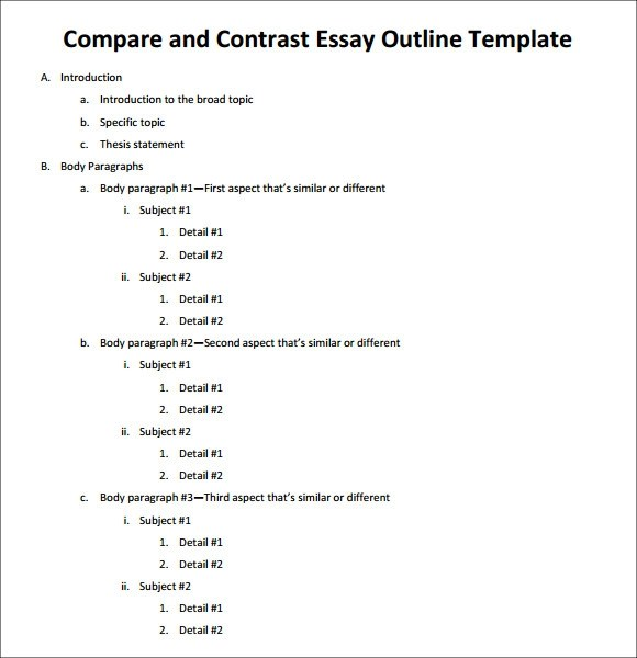 literary criticism paper outline