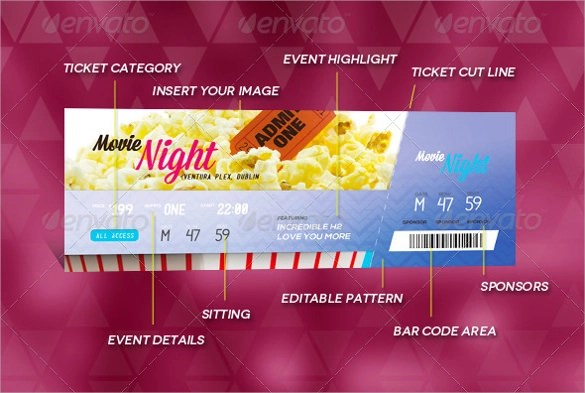 Doc960514 Sample Ticket Design Sample Ticket Design 25 – Sample Ticket Template