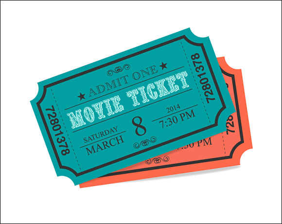 30 Printable Ticket Templates To Download Sample Templates