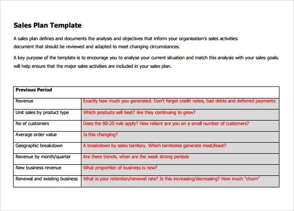 sales commission plans templates sales commission plan template – Annual Sales Plan Template