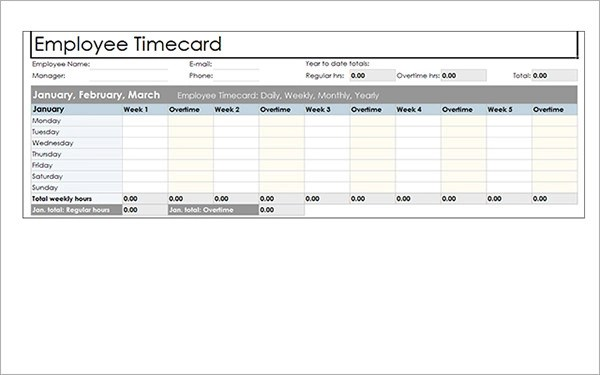 Doc656443 Overtime Calculator Weighted average overtime – Sample Excel Timesheet