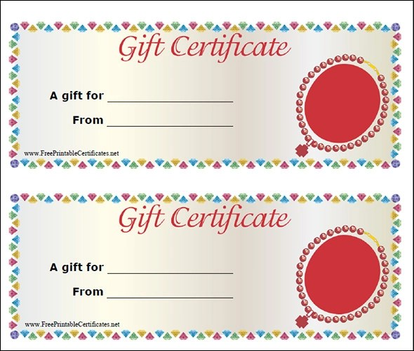 Gift Certificate Template 29 Download PDF PSD Word Illustration EPS Vector