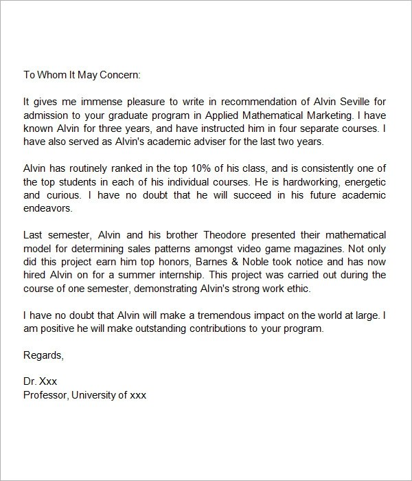 Writing a recommendation letter – Salary Increase Recommendation Letter
