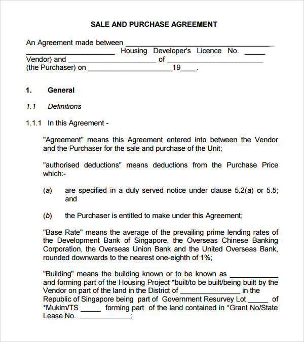 House Purchase Agreement Template. Forms Quit Claim Deed Offer To