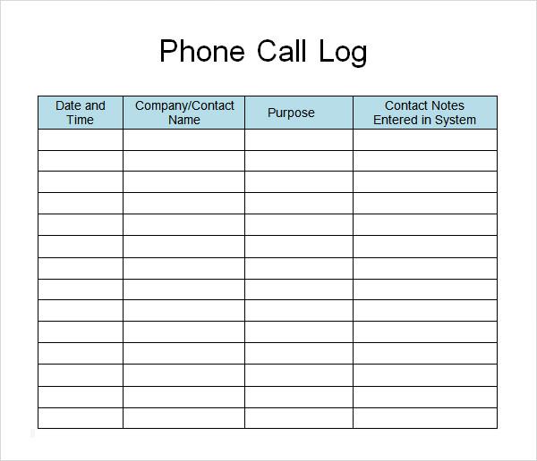 telephone calls log templates search results calendar 2015