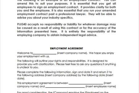 Employment agreement contracts loan employee contract template uk awesome contract employment agreement letter sample pictures employment agreement contracts loan employee contract form employee loan agreement format dean altavistaventures Gallery