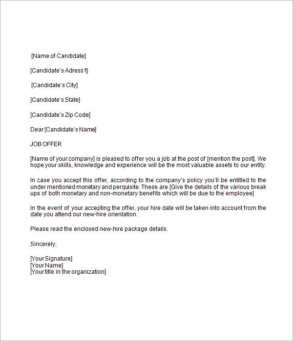 template sample offer letter formal template sample stonevoices co
