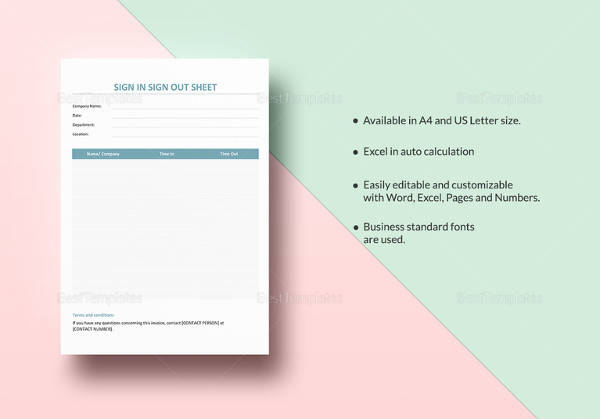 23 Sample Sign Up Sheet Templates To Download For Free Sample Templates