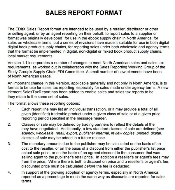 Doc585680 Monthly Sales Report Sample 21 Monthly Sales Report – Sample of Monthly Sales Report