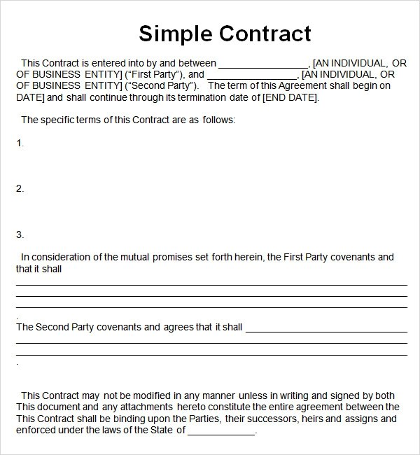 Template Contracts sales contract template project construction – Free Construction Contracts Templates