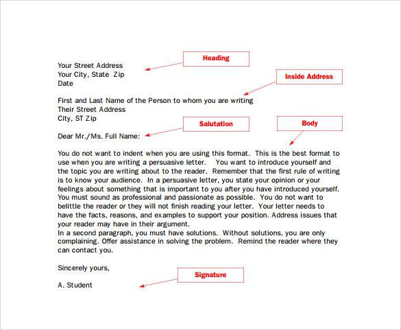 professional e mail template