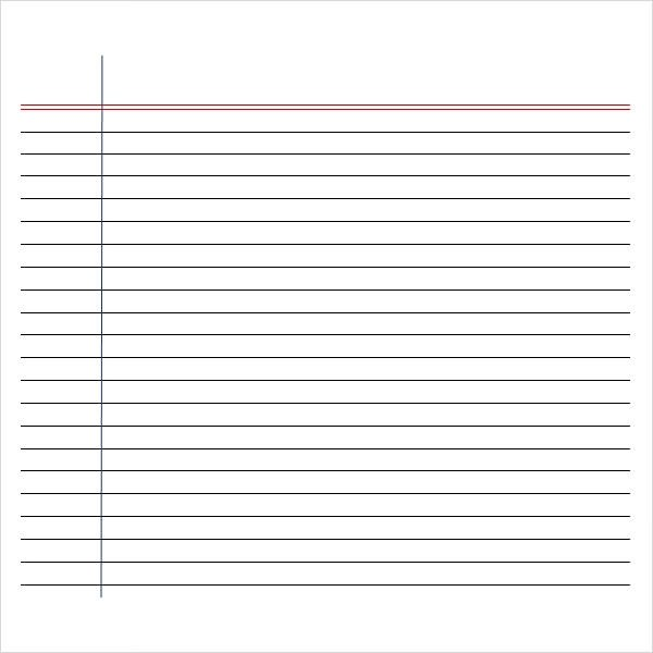 Handwriting paper pdf