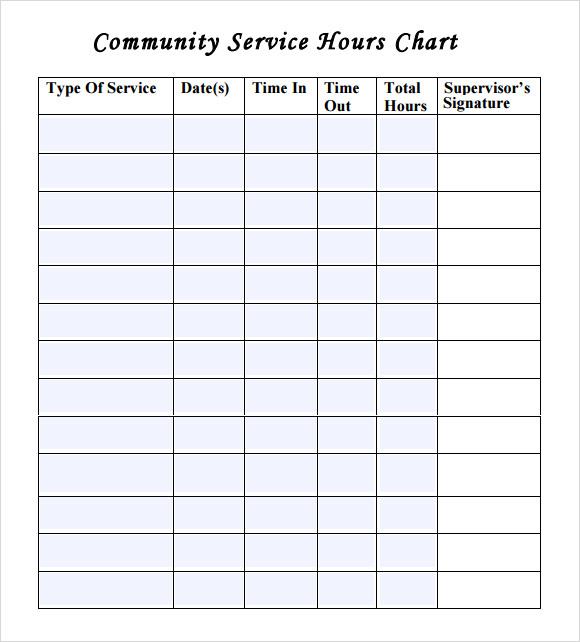 Volunteer Log Sheet Template. 13 volunteer timesheet templates ...