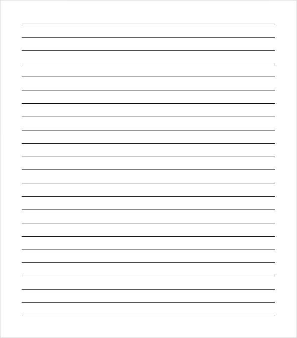 College Ruled Paper Template. 1000 Images About Just Lines Writing