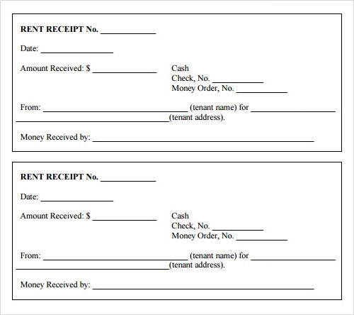 Doc Free Printable Receipts for Services Blank Invoice Page – Printable Receipt