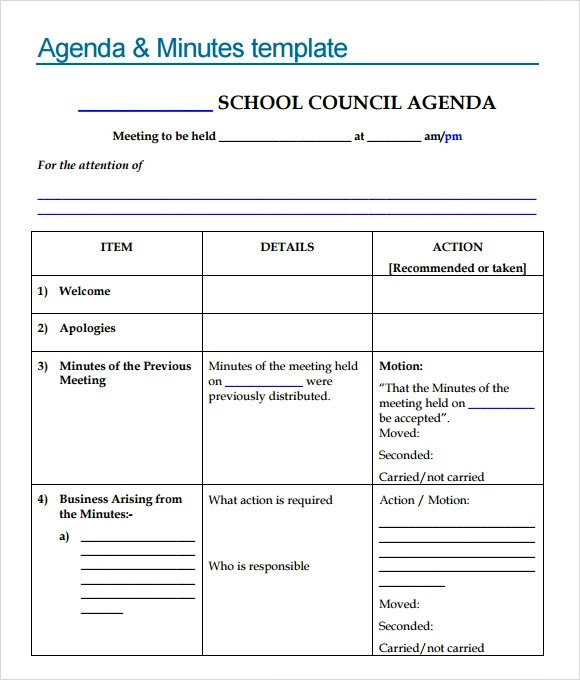 Template School free powerpoint templates school sample school – Sample School Agenda