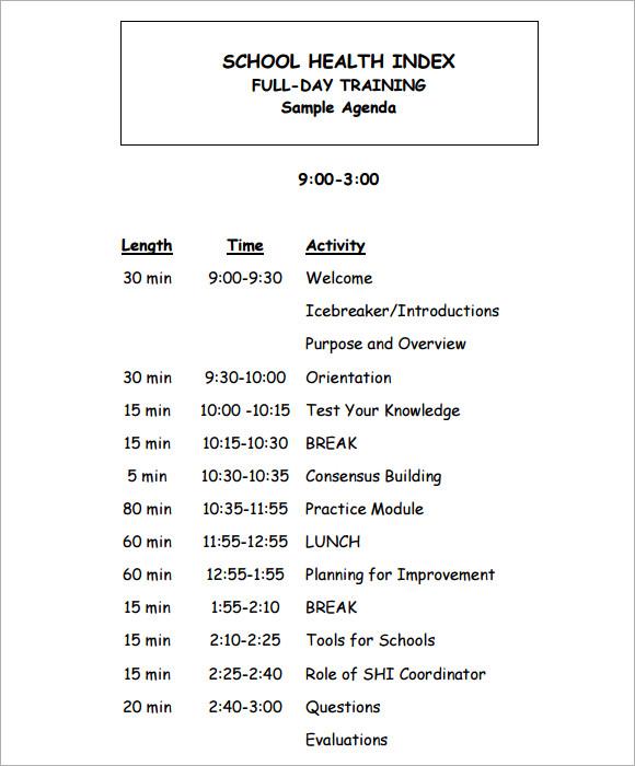It Meeting Agenda Template it meeting agenda template printable – Free Meeting Agenda Template Microsoft Word