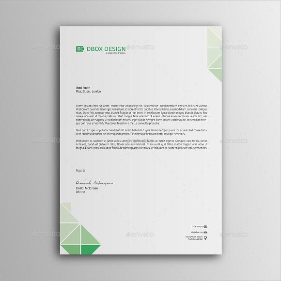Personal letterhead template free download spiritdancerdesigns Gallery