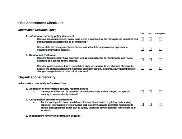 Information Security Questionnaire