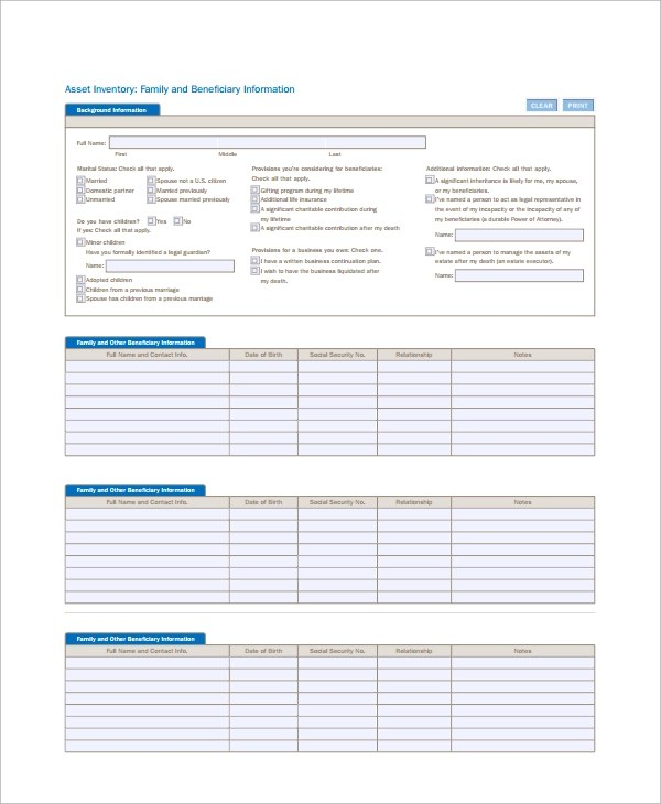 Free 6 It Inventory Templates In Pdf Excel