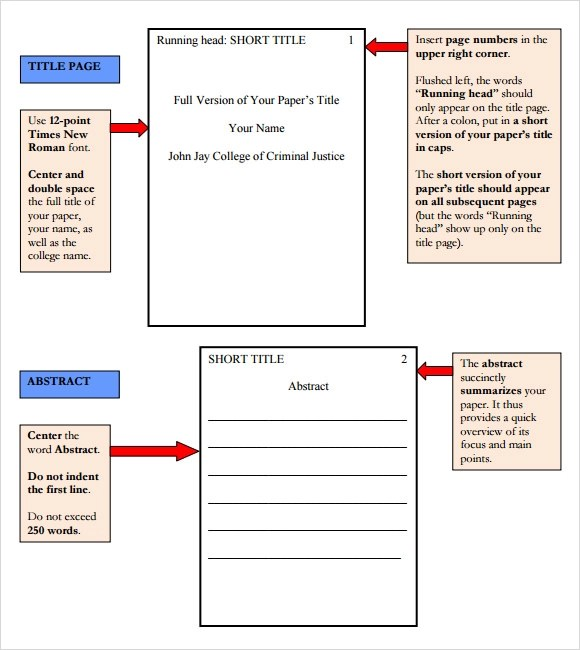 Sample APA Paper - Radford University