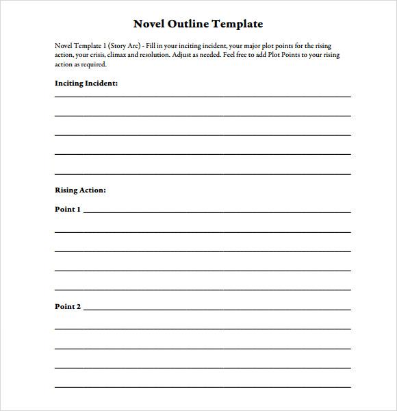 outlining a novel pdf free
