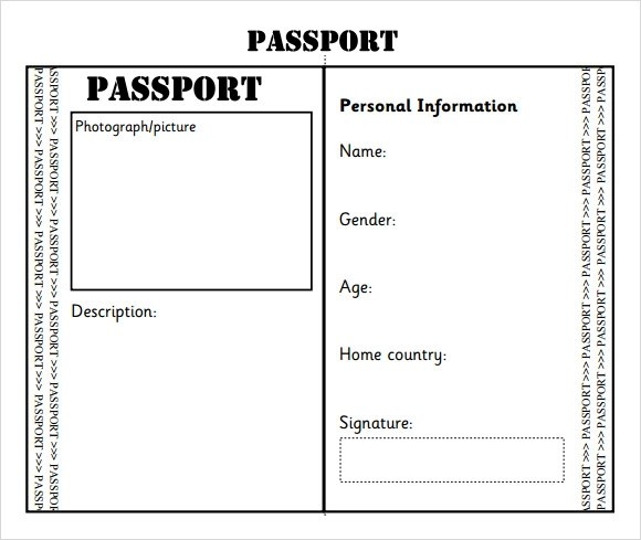 Passport photo template word pdf reading passport by jen ee sample passport 8 documents in psd pdf word pronofoot35fo Gallery
