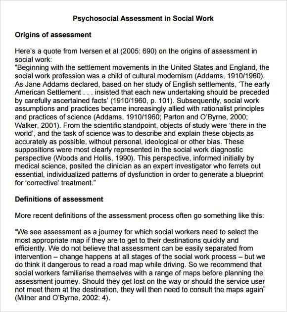 Psychosocial Template. best photos of social work psychosocial ...