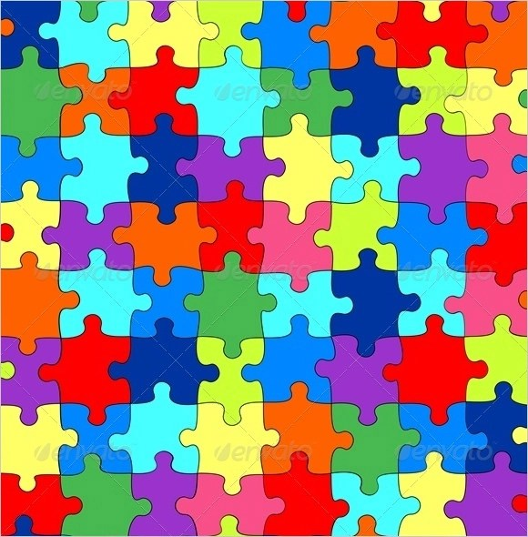11 Blank Puzzle Templates Sample Templates