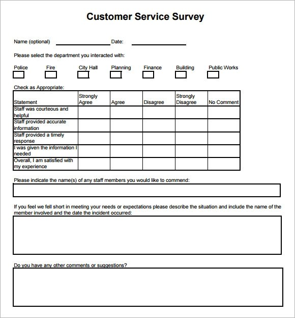 Surveys Template. student survey template 15 free word excel pdf ...
