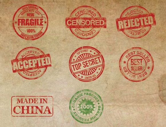 Stamp Template Download Documents In PDF PSD Vector
