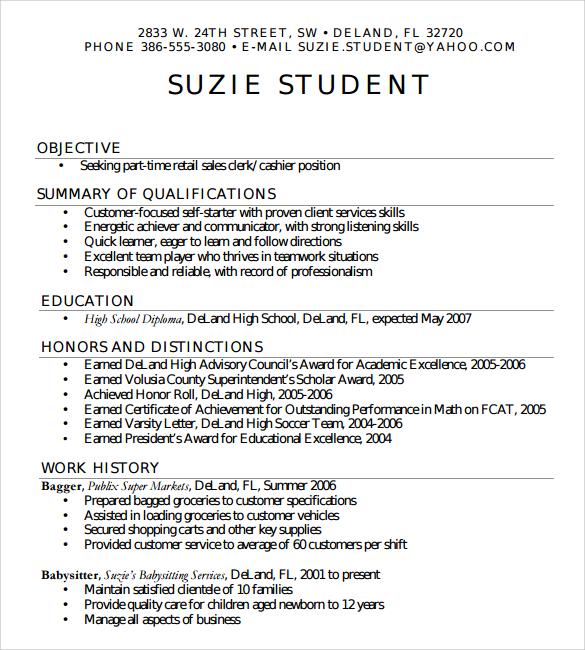 High School Resume Templates Microsoft Word. High School Resume