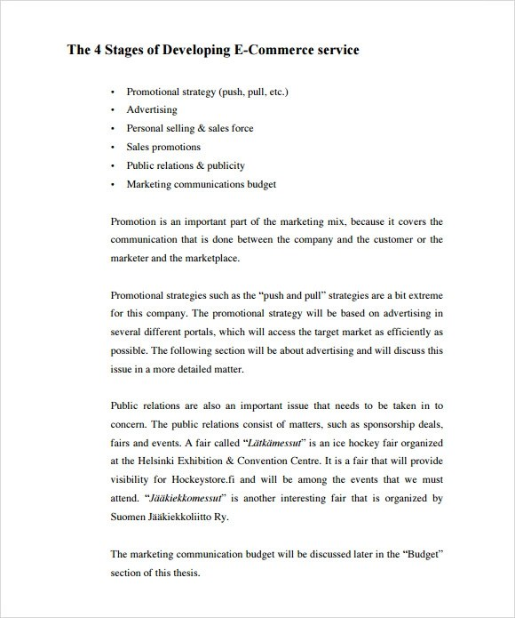 Free business plan download pdf