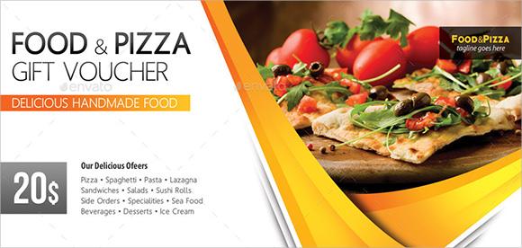Lunch Voucher Template discount voucher template with thai food – Lunch Voucher Template