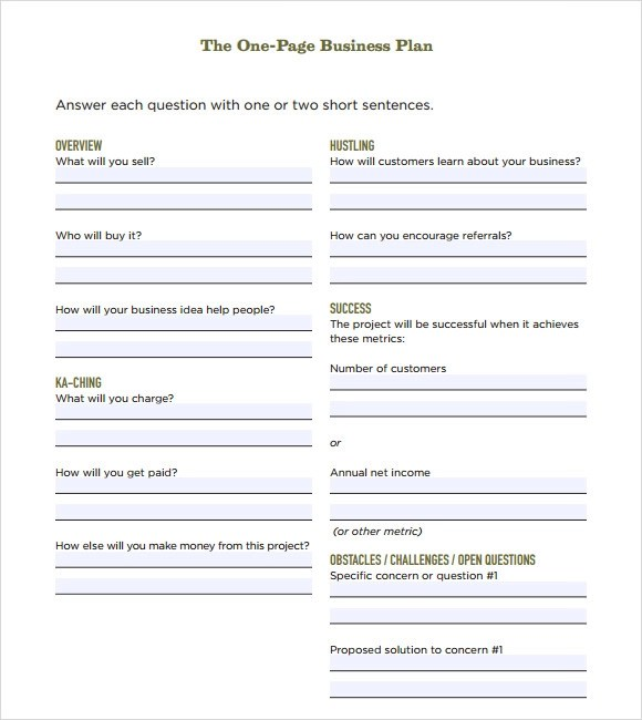 One Page Business Template. top 3 freebies minimal business card ...