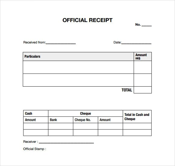 free receipt templates at document templates payment receipt – Receipts Samples