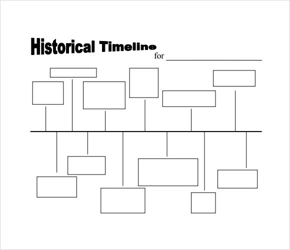 timeline template for kids 6 download free documents in pdf word