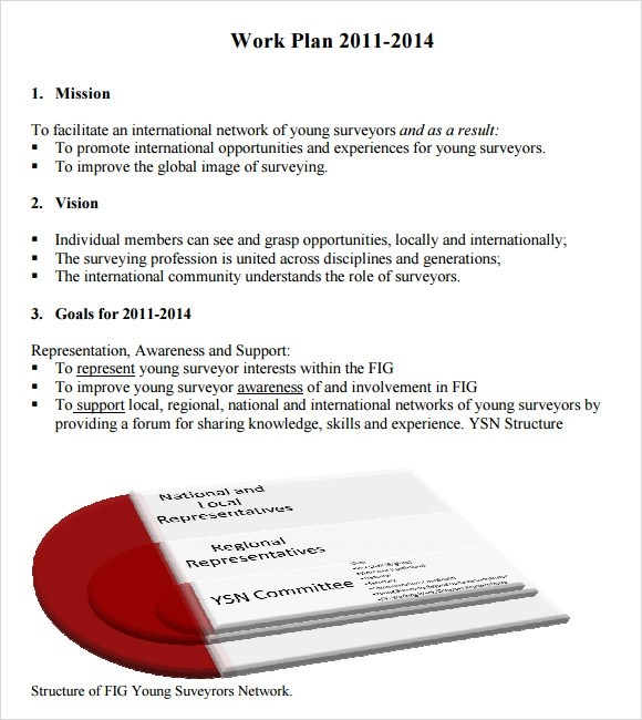 Sample Work Plan Template  employee work plan example personal