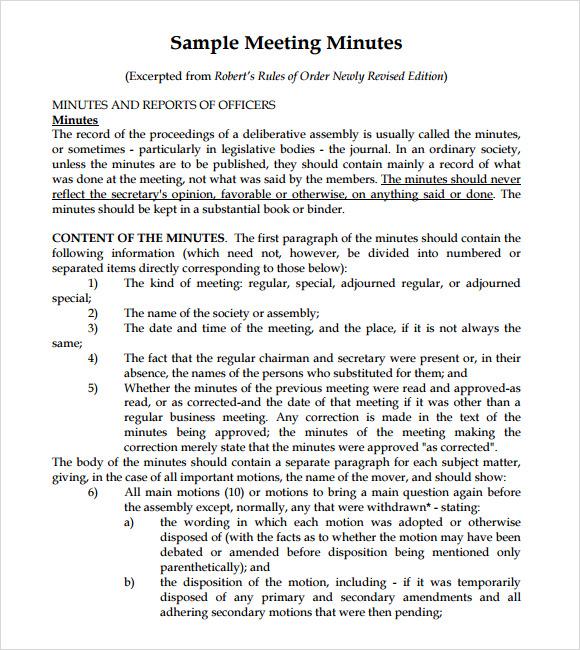 meeting summary format sample executive summary template for – Meeting Summary Template Word