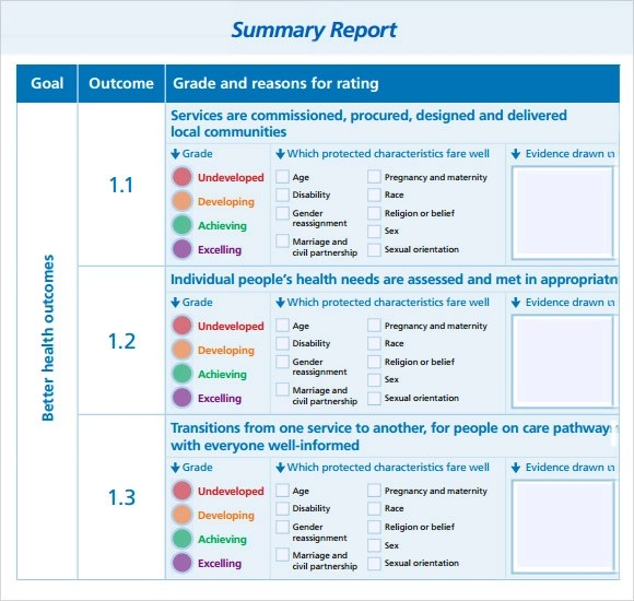 Summary Report Template Are Reports Private Investigator Report