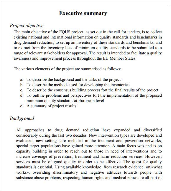 Project Management Resume Summary Examples. Resume Summary