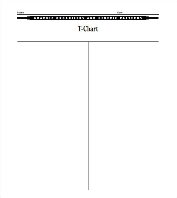 Free T Chart Template. Microsoft Office Templates And Charts On