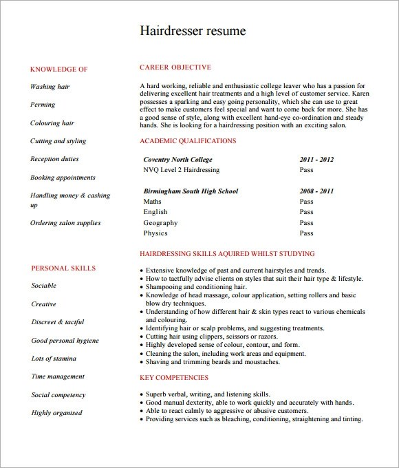 Resume Examples The Muse 5000++ Free Professional Resume