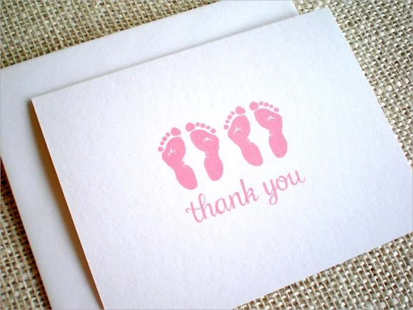 13 Baby Shower Thank You Notes Sample Templates
