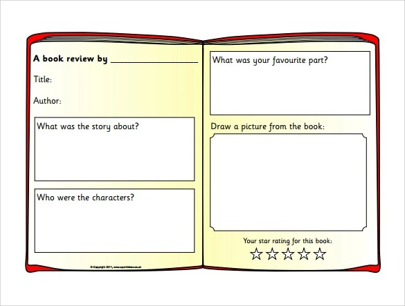 how to write a book review template At the beginning of the school year, do a read aloud and have students each do a book review on the same book that was read to the class have select students share their book reviews and/or thoughts on a book.