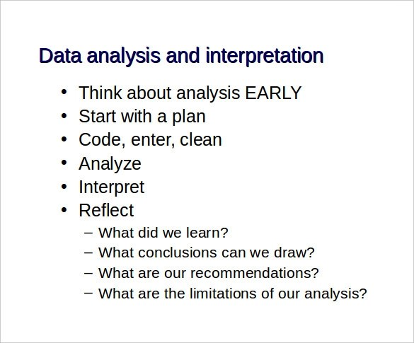 Analysis Report Template  force field powerpoint slidemodel